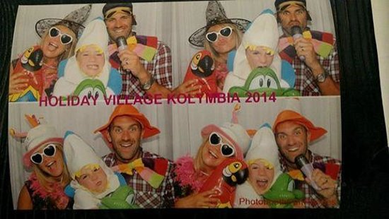 Holiday Village Rhodes : Fun Photo Booth