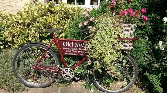 Old Swan & Minster Mill: The pub bicycle