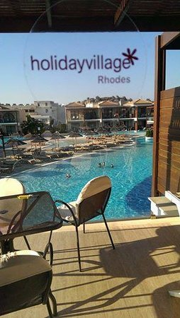 Holiday Village Rhodes : Our Room