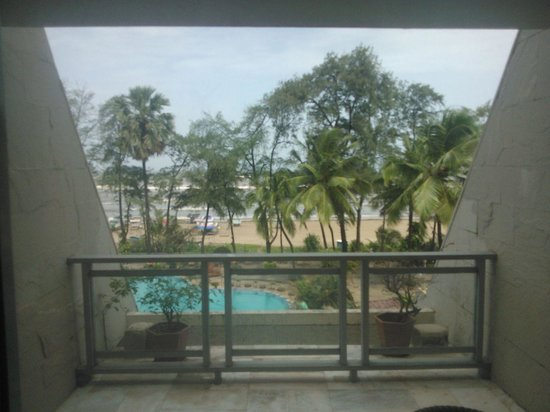 The Resort: Sea View from balcony
