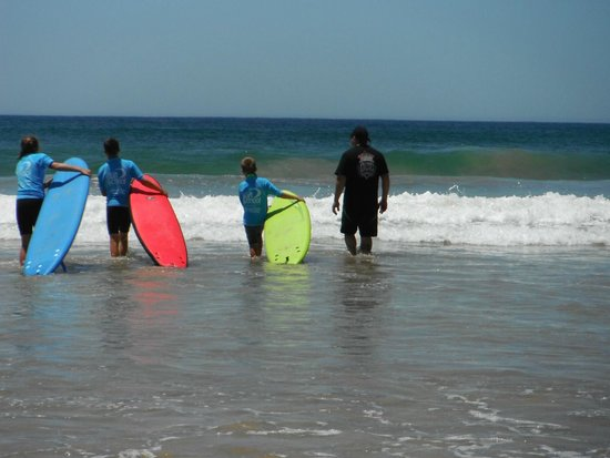 Port Stephens Surf School: here we go