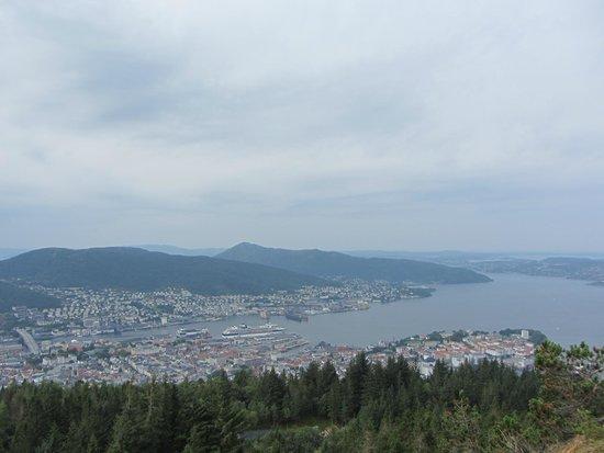 Mount Floyen and the Funicular (Floibanen): Bergen