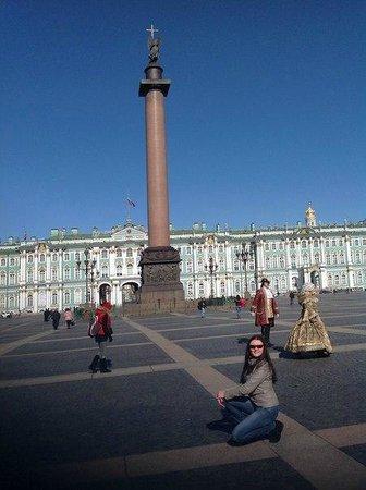 Palace Square (Dvortsovaya Ploshchad) : Дворцовая площадь