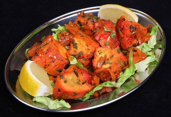 Krishna : Salmon Tikka