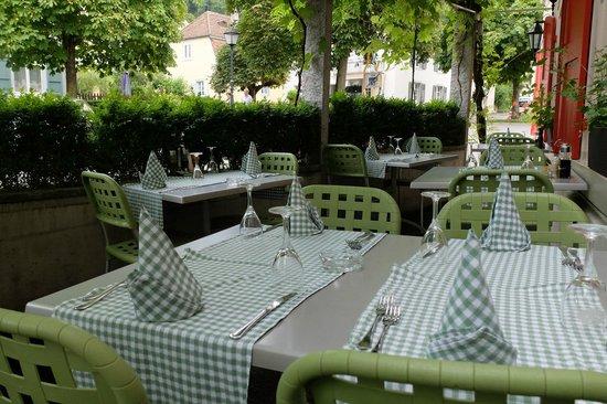 Restaurant Rossli: Im Garten