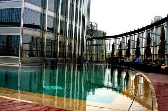 Armani Hotel Dubai: at the pool