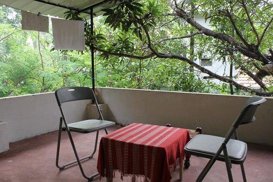 Krishna Leela Homestay: Balcony on first floor