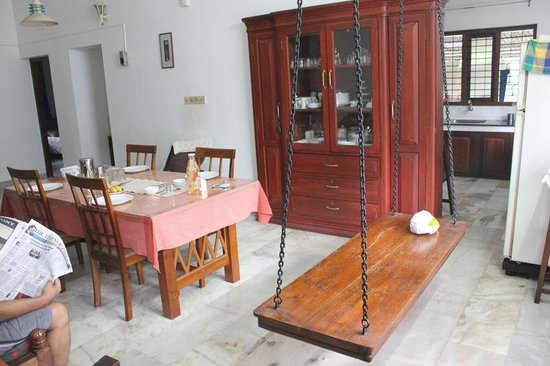 Krishna Leela Homestay: Family dining room on ground floor where we had our breakfasts and meals