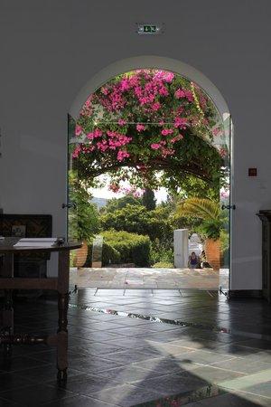 Minos Beach Art hotel: reception / lobby