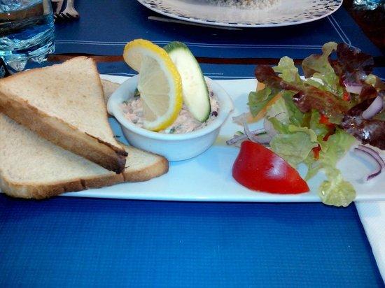 La Station : La rillette de saumon