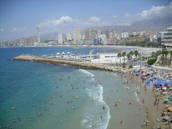 Sol Pelícanos Ocas: Bischen von der Strandaussicht