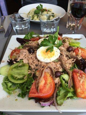 Malabar restaurant : salade niçoise