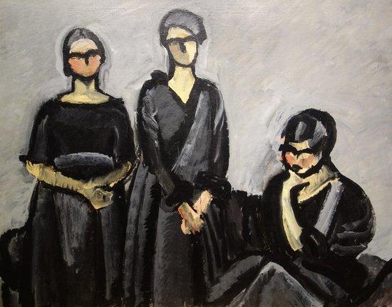 ARoS Aarhus Kunstmuseum : H. Giersing: Tre damer i sort