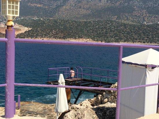 Lukka Exclusive Hotel: Privé ponton aan zee