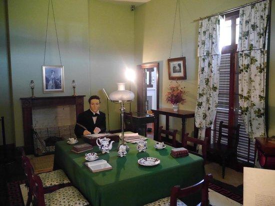 Interior of Treaty House, Waitangi Treaty Grounds