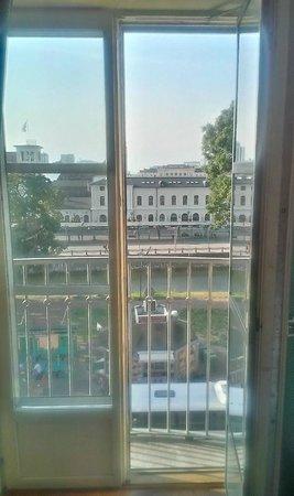 Elite Plaza Hotel Malmo: View from Room/Balcony