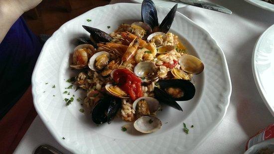 Ristorante da Costantino: seafood risotto