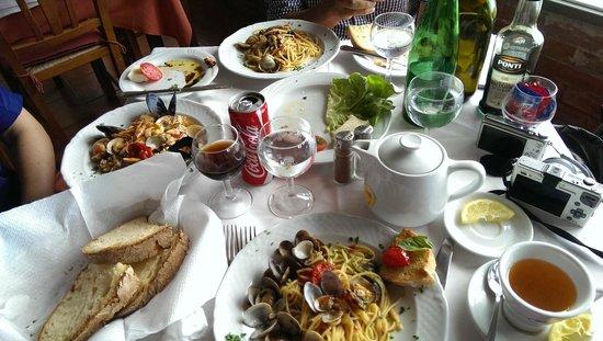 Ristorante da Costantino: our meal