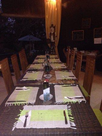 Minabali Bunga'lo: Repas du soir