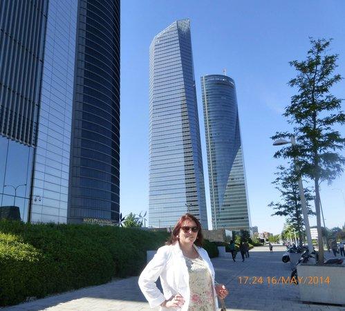 Eurostars Madrid Tower: Las famosas TORRES