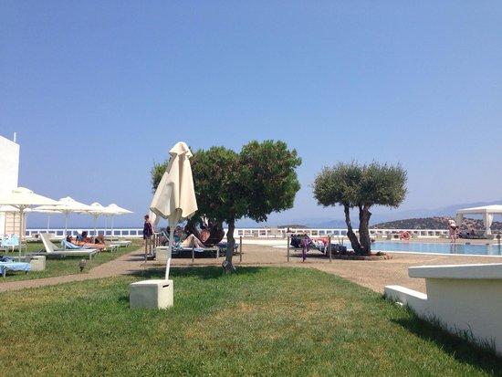 Sensimar Minos Palace : Бассейн у отеля