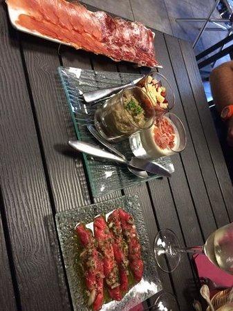 Vin d'amour : L'assiette pour 2