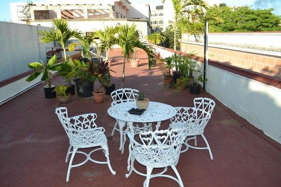 Suite Havana : Terrasse