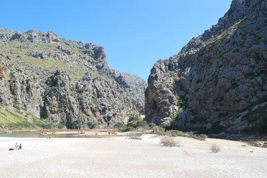 Canyon de la Calobra : wąwóz