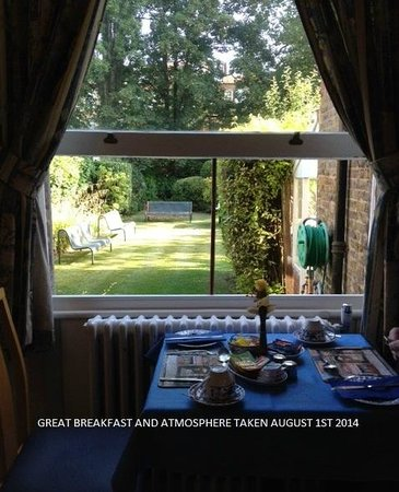 Dawson House Hotel : BREAKFAST ROOM
