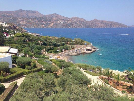 Sensimar Minos Palace : Пляж