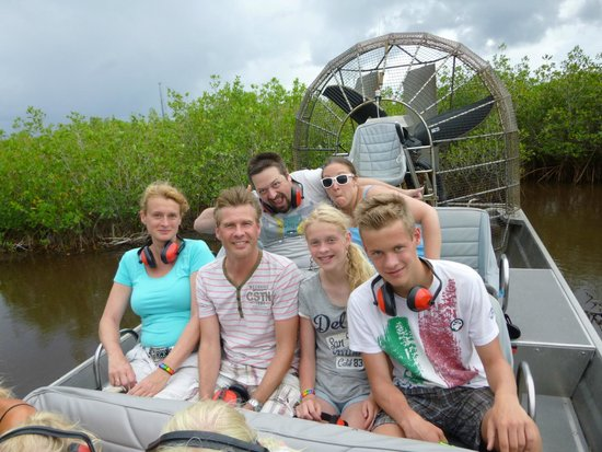 Jungle Erv's Everglades Airboat Tours: Gezellige airboat tour.