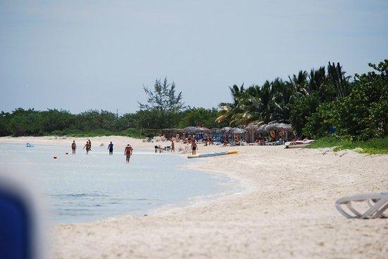 Hotel Playa Coco: Beach view