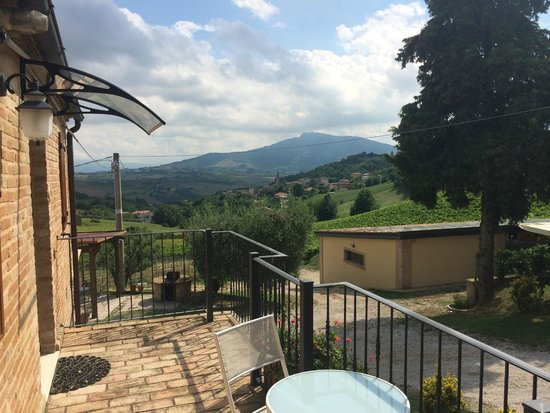Terre Vineate: View