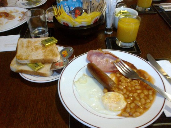 Hotel Meridiana: La colazione all'inglese