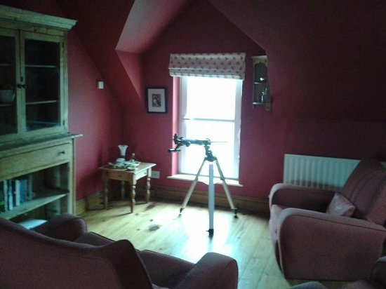 Arkell House B&B: master suite to floor