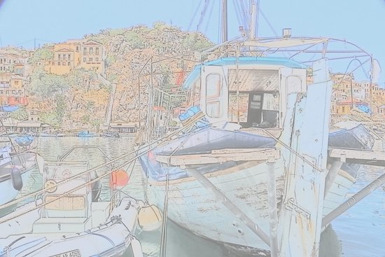 Boat Excursion to Symi by Tourtlee: Barca e panorama
