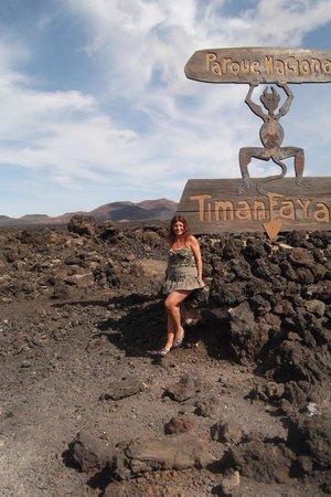 Parque Nacional de Timanfaya: Simbolo del Parque Timanfaya