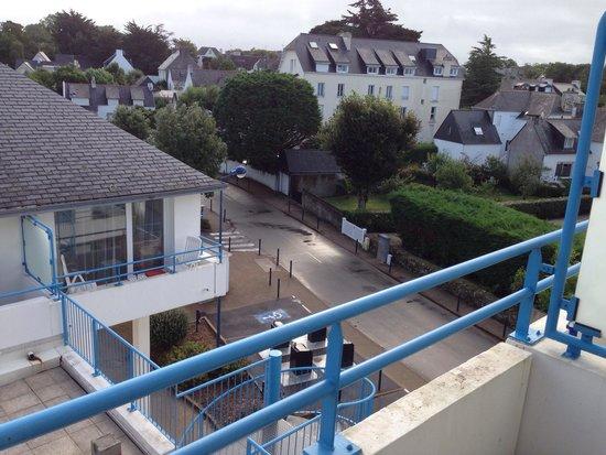 Pierre & Vacances Résidence La Corniche de la Plage : Vue du balcon