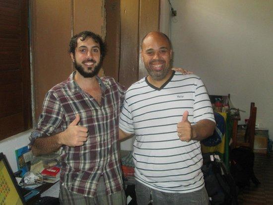 Hospeda Salvador: David and Ignacio the hosts
