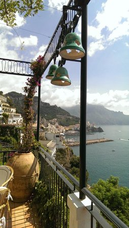 Santa Caterina Hotel: View from Cafe