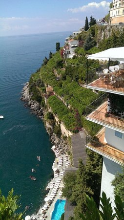 Santa Caterina Hotel: The swimming pool