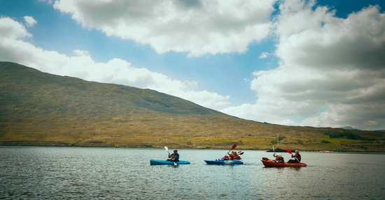 Delphi Resort : Kayaking on the Killary Fjord