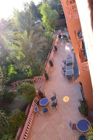 Les Jardins de Ouarzazate: Terrazza