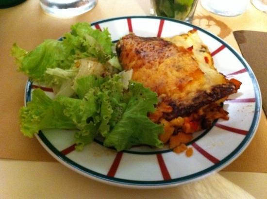 Le Victoria : 3 fish lasagna