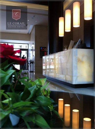 Le Corail Suites Hotel : Lobby