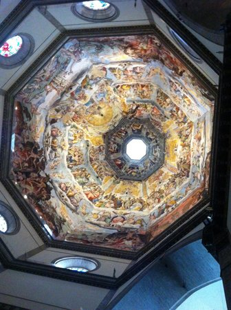 Cupola del Brunelleschi: La cupola all'interno