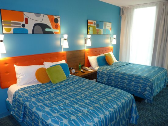 Universal's Cabana Bay Beach Resort: Accessible Room with 2 double beds