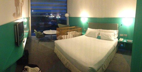 Hotel Hiberus: habitacion