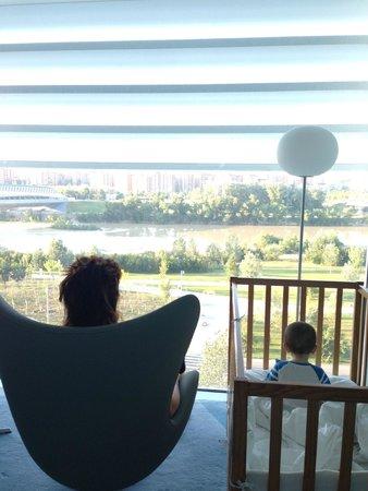 Hotel Hiberus: vistas ventanal