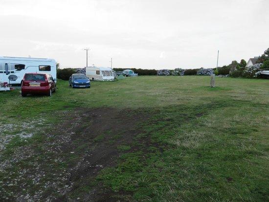 The North Inn: Camp field